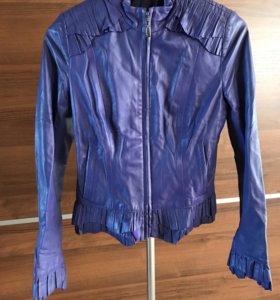 Куртка новая из натуральной кожи Acasta