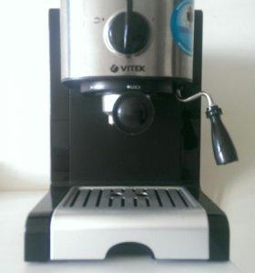 Кофемашина Vitek VT-1513-BK