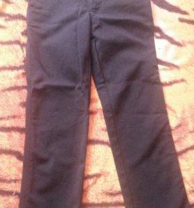 Стрейчевые джинсы-брюки