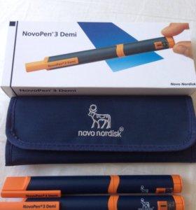 Инсулиновая шприц-ручка НовоПен 3 Деми полшага
