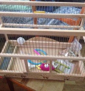 Клетка для попугая или морской свинки