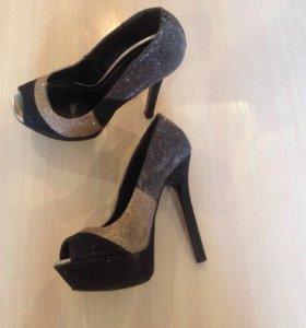 Туфли, сапоги-чулки