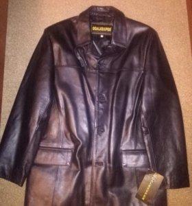 Куртка из лайковой кожи новая