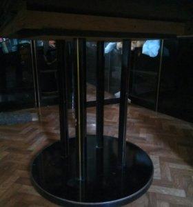 Стол обеденный, круглый раскладной