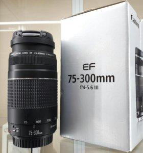 Обьектив EF Canon 75-300 mm