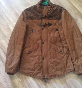 Демисезонная куртка-парка р46