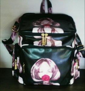 Рюкзак Эко кожа! Новый!