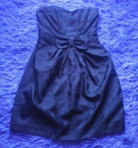 Платье черное новое на выпускной