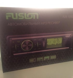 Магнитола mp3 fusion fus-1050u