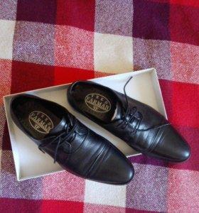 Мужские ботинки нат.кожа