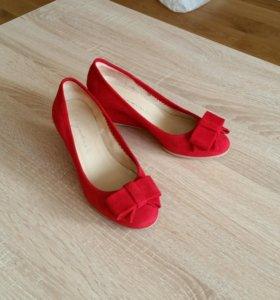 Туфли замшевые итальянские