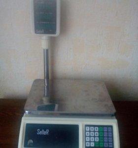 Весы электронные со стойкой SL - 201P-30