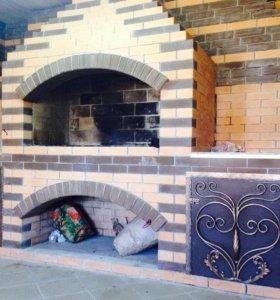Строю печи,камины,садовые комплексы(барбекю)
