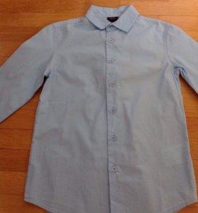 Рубашка хлопок 100% р. 134-140 см. новая