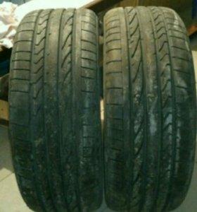 Bridgestone Dueler H/P Sport 255/45/20 б/у 1 сезон