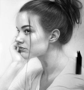 Портрет по фото📷