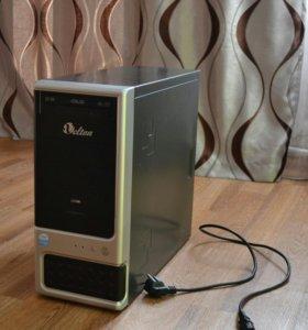 Компьютер ОЗУ:4GB, видеокарта-1GB. 2 ядра.