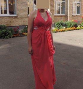 Платье женское вечернее (выпускное)