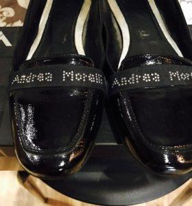 Мокасины andrea morelli