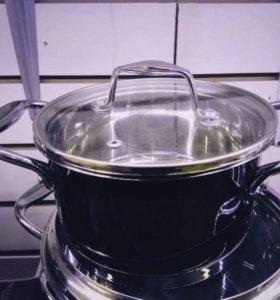 Набор стальной посуды