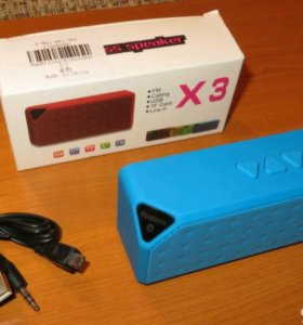 Bluetooth колонка X3 Jambox mp3 USB MicroSD