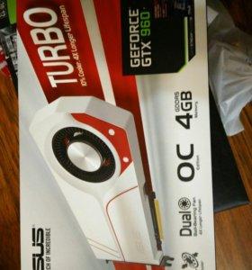 Видеокарта Nvidia gtx960 4gb OC