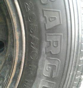 Шины с дисками от Нива Chevrolet