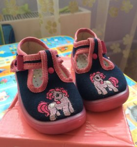 Туфли для девочки р. 19