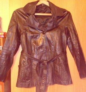 Пиджак нат. кожа