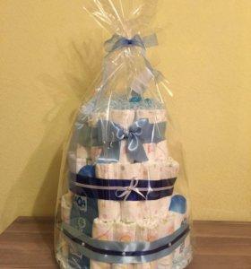 Торт для новорожденного , подарок