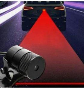 Лазерный стоп сигнал на авто