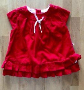Вильветовое платье GeeJa
