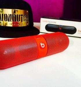 ⭐️Колонка беспроводная Beats, цвет-красный