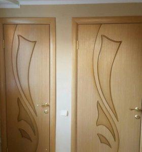 Монтаж межкомнатных двере