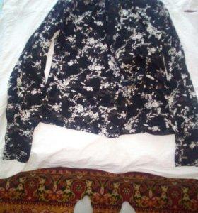 Блузка с запахом в идеальном состоянии
