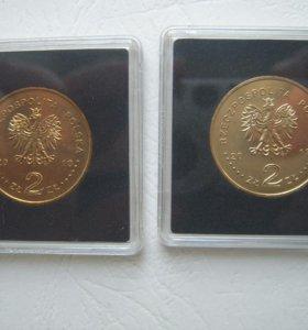 Монеты Польши в коробочке