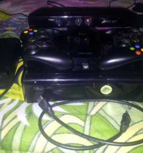 Xbox 360 slim/250gb/kinect/lt 3.0/2 gamepad