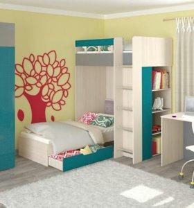 Детская комната Бирюзовый лен