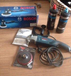 Bosch полировальная машинка