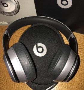 Beats Solo 2 wireless silver новые