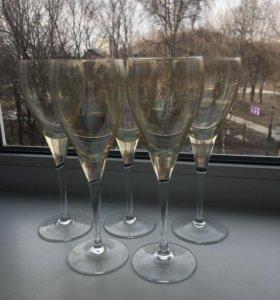 Бокалы для шампанского/вина
