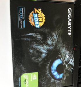 Видеокарта GIGABYTE GEFORCE GT 730 2gb, 128bit
