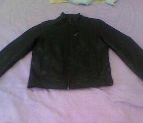 Куртка кожанная р. 42-44