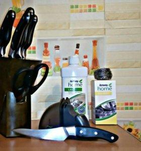 Набор кухонных ножей iCook