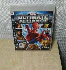 Игра на P.S.3 Marvel