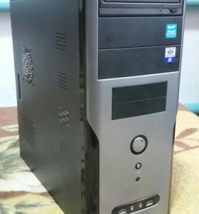 Intel i5 4 ядра 8GB RAM системный блок