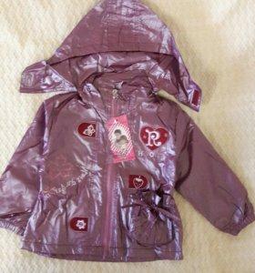 Куртка и штанишки для девочки