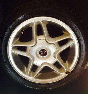 Продаю колёса 4x100 195/55/16 RunOnFlat
