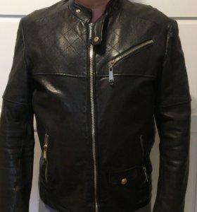 куртка из натуральной кожи, р48