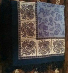 Новый шерстяной платок.